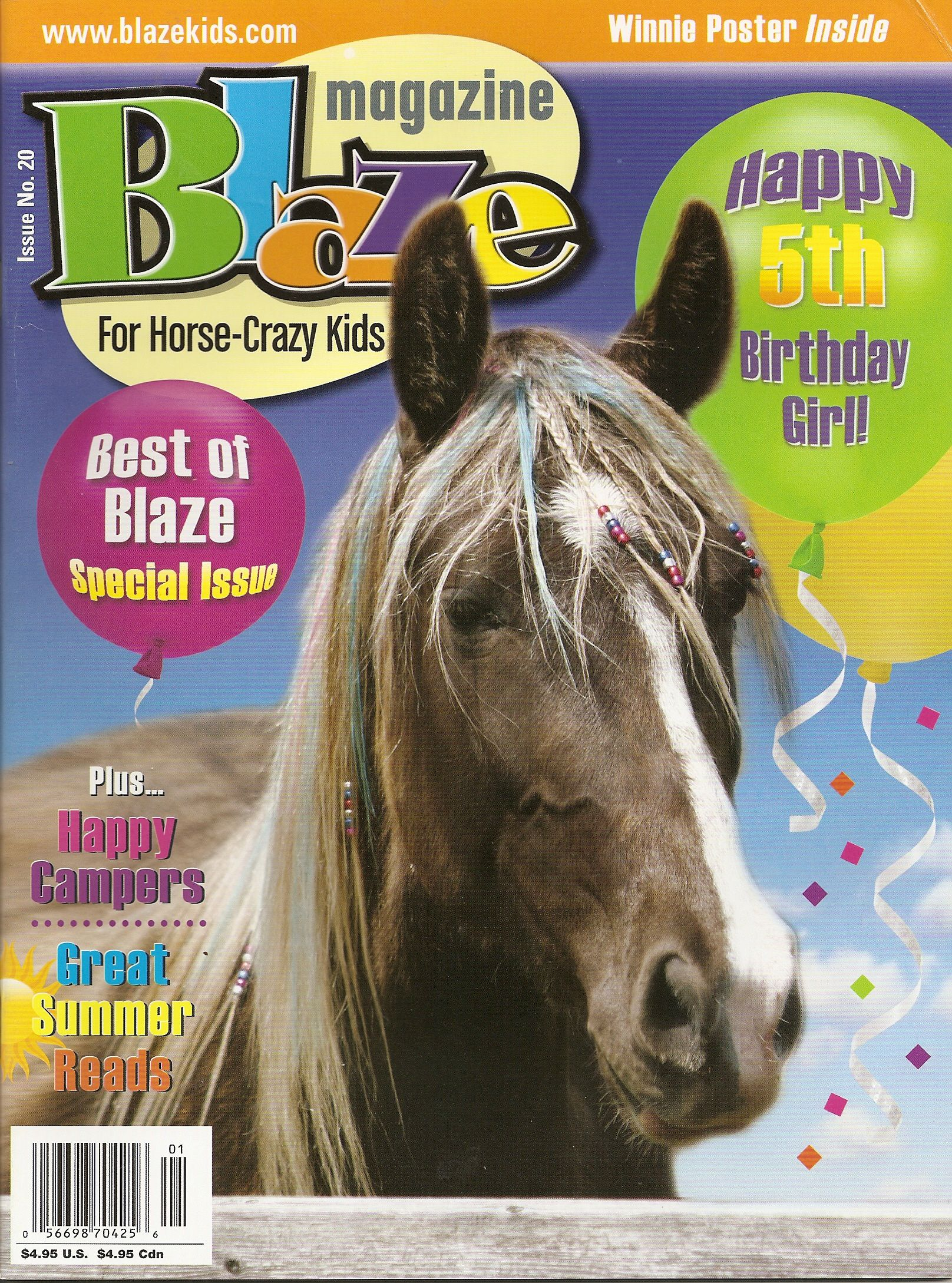 This was my Birthday issue. Celebrating the big one...5