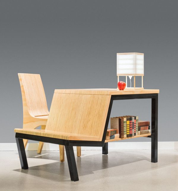 Multifunctional Desk Turned Dining Table for Small Spaces in home furnishings Category