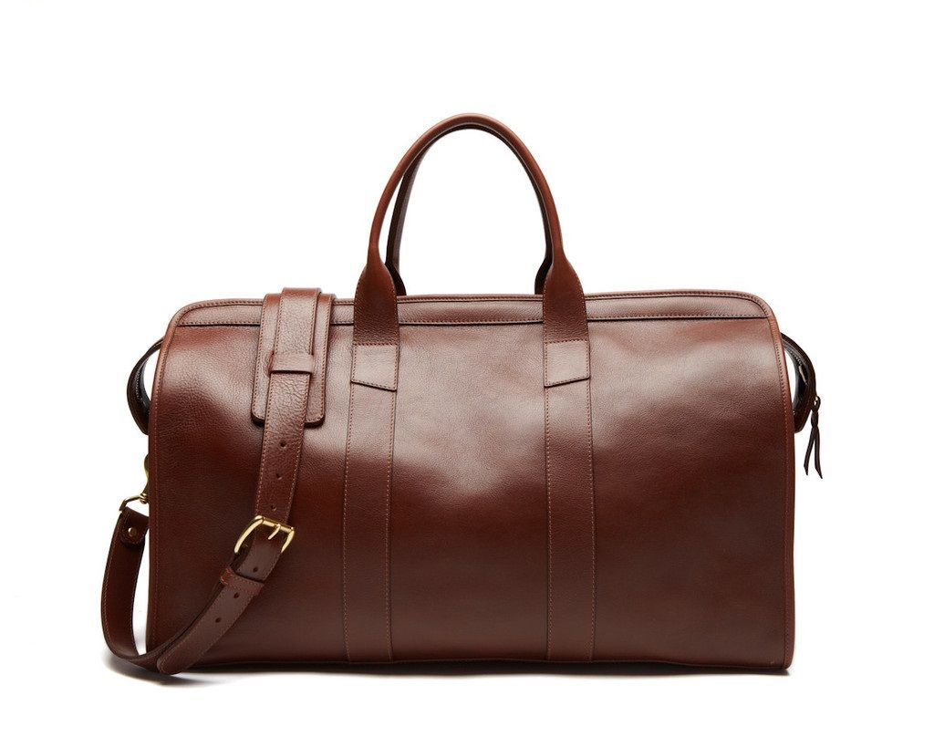 The Ideal Duffel Bag for Your Weekend Getaway: The Lotuff leather ...
