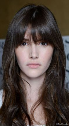Fantastic Fringe How To Master French Girl Bangs French Hair