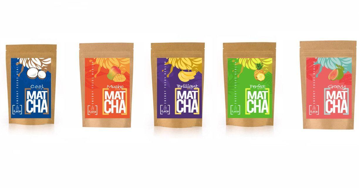 NEW!!! Boutique Crafted Matcha Tropical Teas - 10oz (Coconut, Mango, Banana, Pineapple, Guava)