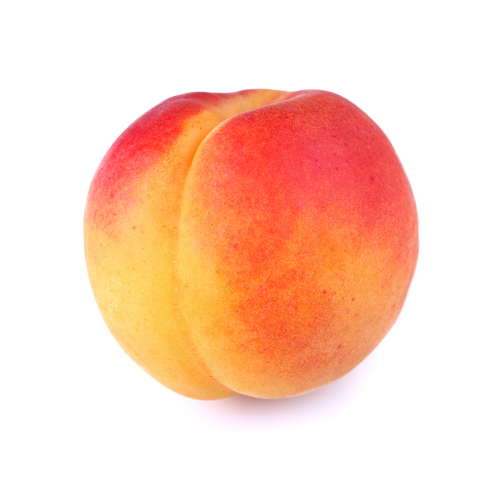 peach fruit Our peach frozen fruit bars are made with real fruit, no artificial colors or flavors  (added colors from natural sources), and are 60 calories each.