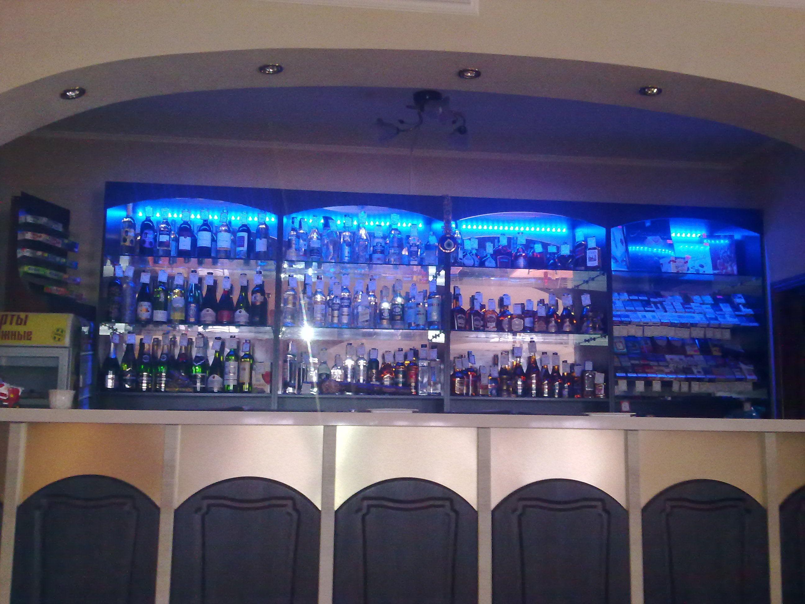 вот бар с подсветкой фото так один производителей