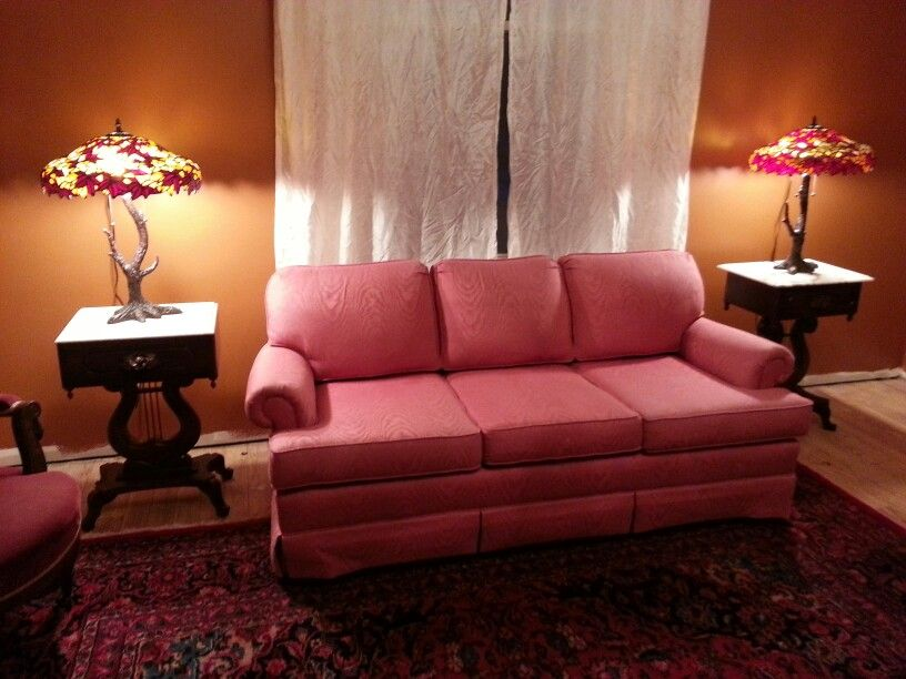 Rose Colored Sofa Thats Going To My Store