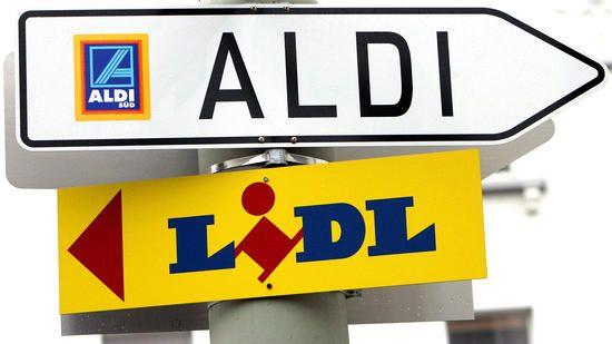 Aldi und Lidl im Kampf um Ausländsmärkte