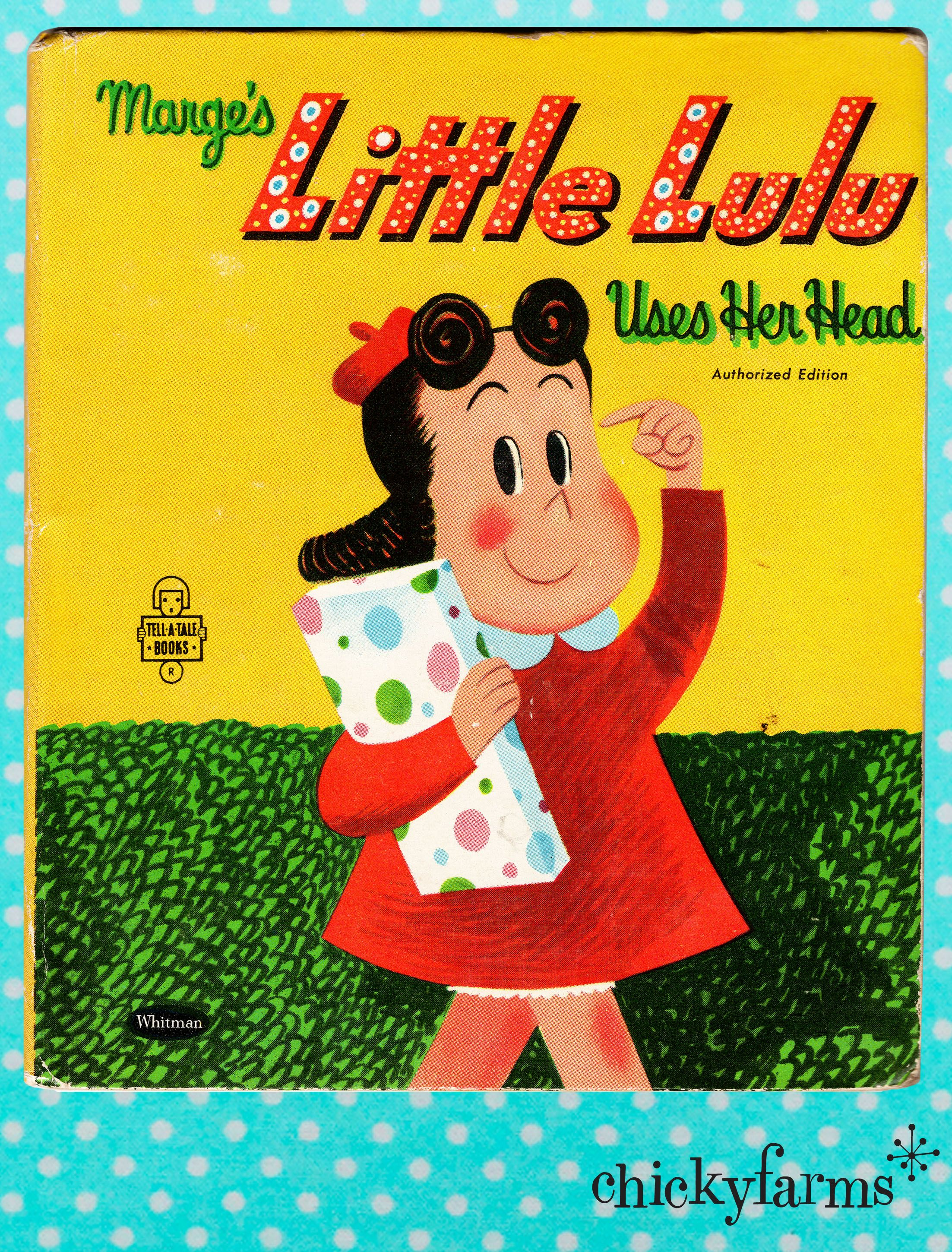 Whitman hot wheels coloring book - 1950 S Vintage Children S Book Marge S Little Lulu Uses Her Head Whitman Tell A Tale