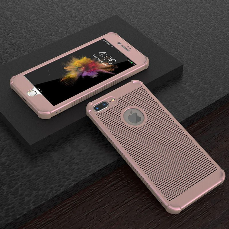 Bakeey Full Body Mesh Heat Dissipation Tpu Case For Iphone 6 Plus 6s Plus 5 5 Sale Banggood Mobile With Images Iphone