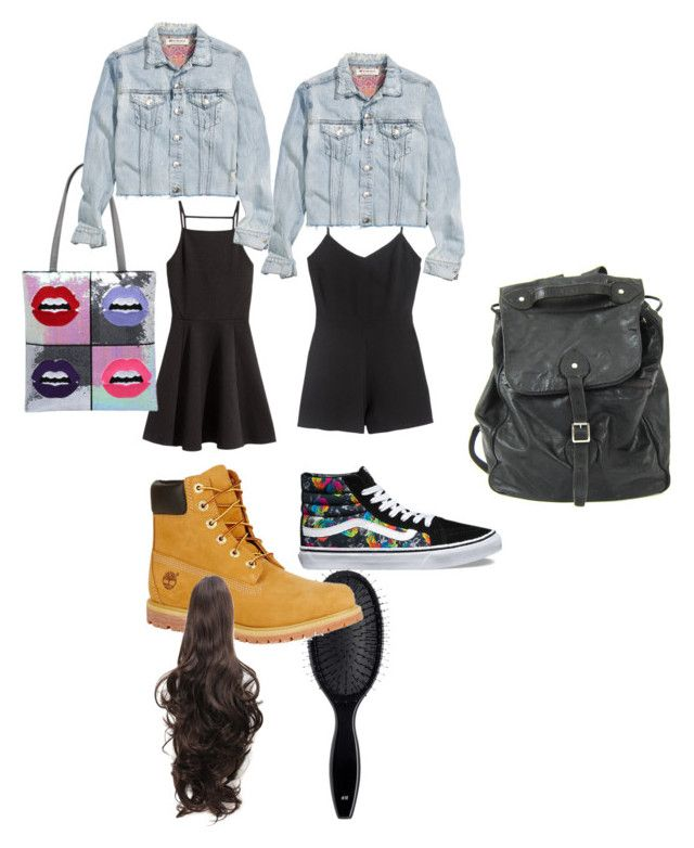 """Untitled #8724"" by lover5sos ❤ liked on Polyvore featuring Vans, H&M and Timberland"