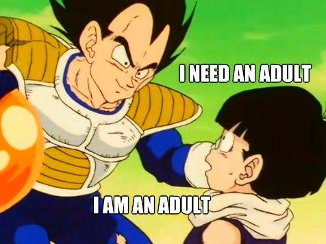 Funny Dragon Ball Z Abridged Memes : Dbz abridged oh vegeta dragon ball z dbz and