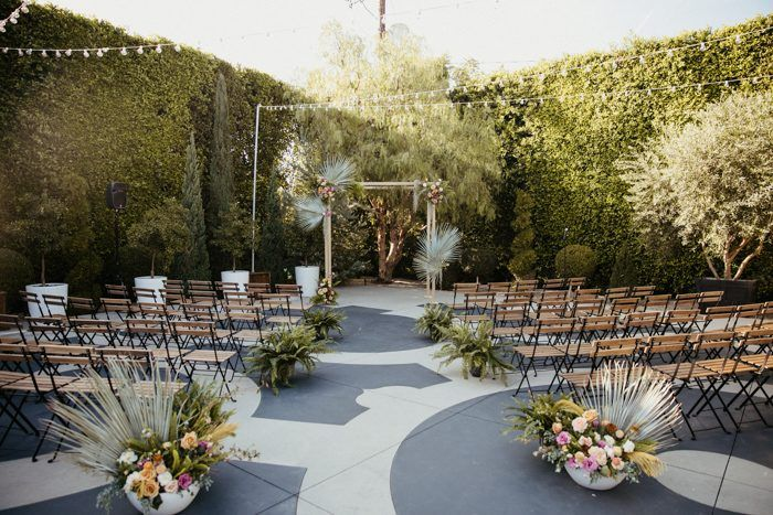 This Colorful Los Angeles Wedding At The Fig House Is Filled