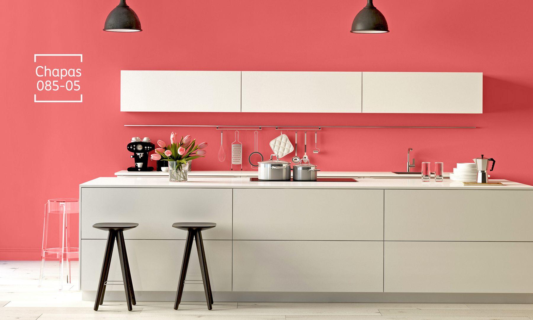 Los tonos alegres y divertidos harán que este espacio se convierta en el preferido de tu familia.