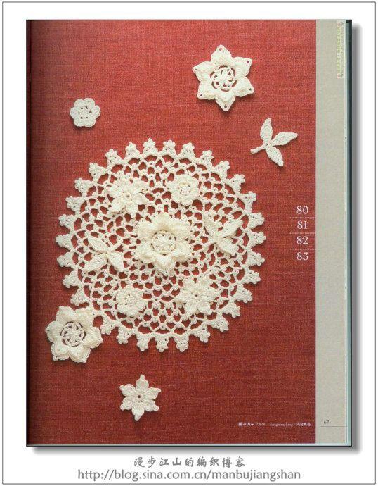 Crochet. esquemas de servilletas - hecho a mano-Paradise