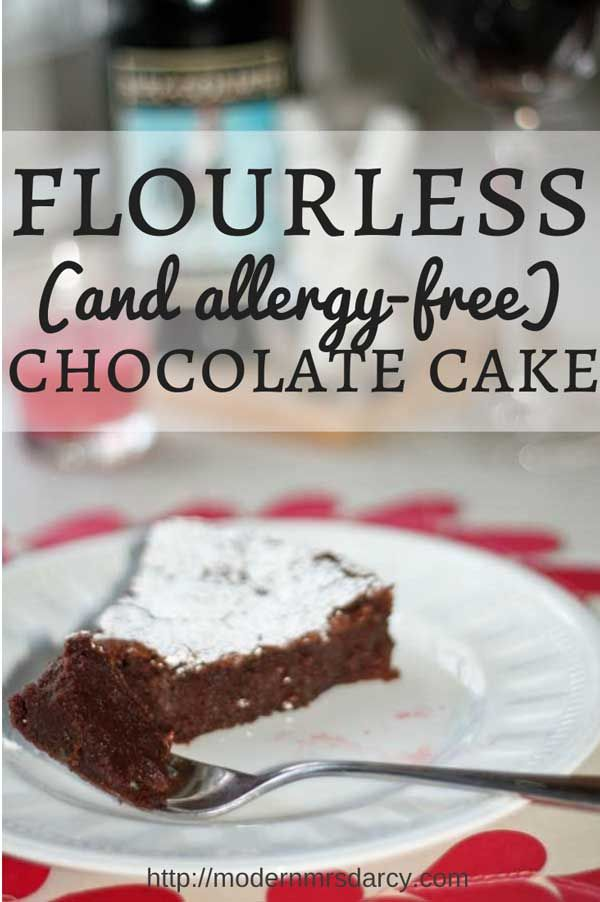 This to-die-for chocolate cake recipe is dead-simple, totally impressive, and free of most major allergens. It's also delicious and equally suited for family night or fancy company. And it's even better after sitting around for a few days! #glutenfree