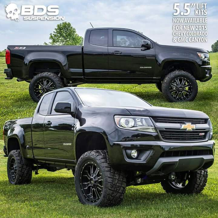 Best 2019 Gmc Canyon Colors Concept: 2015 Chevrolet Colorado Z71 Lifted