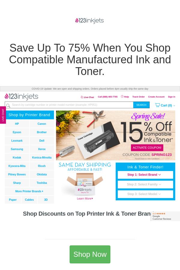Best Deals And Coupons For 123inkjets In 2020 Sign Printer Printer Ink Cartridges Toner