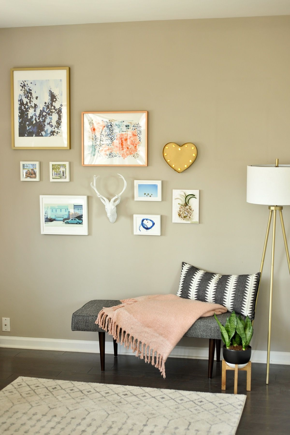 Fantastic Wall Decorating Ideas For Living Rooms To Try: My Gallery Wall + Gallery Wall Ideas For You To Try