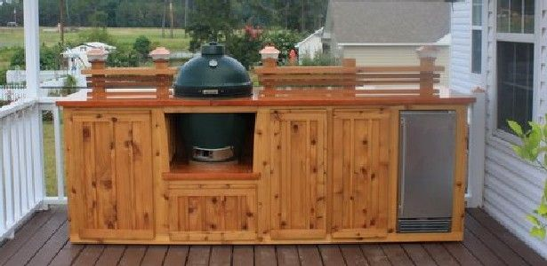 Posh Patios | Custom Indoor/Outdoor Cabinets, Big Green Egg Tables,  Kitchens U0026