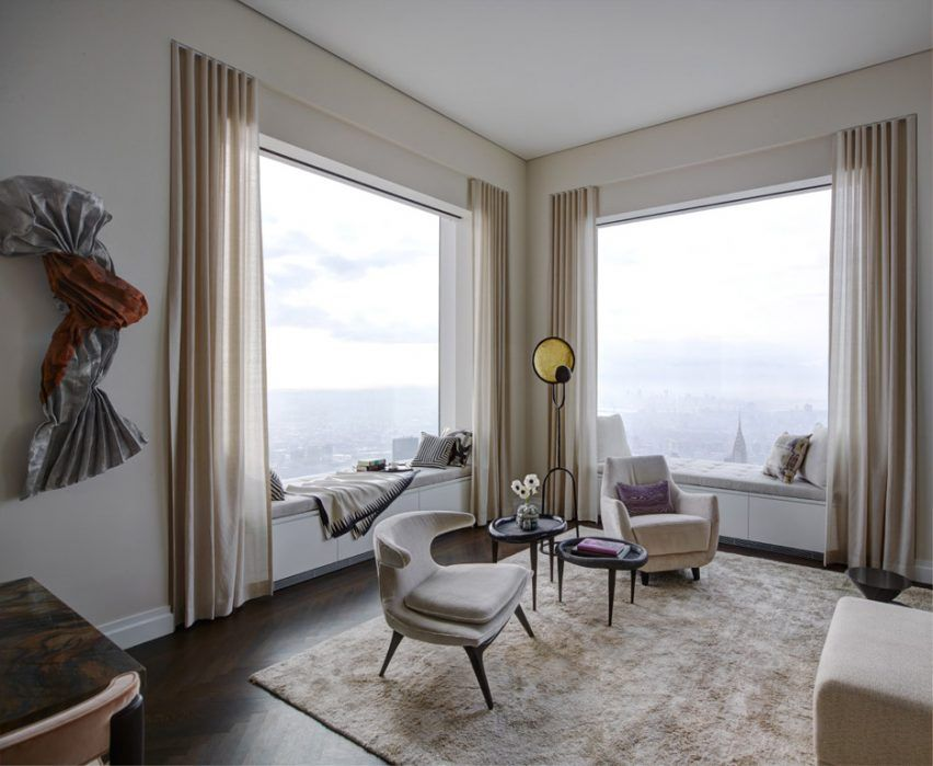 Gut 432 Park Avenue Penthouse Receives Makeover From Kelly Behun
