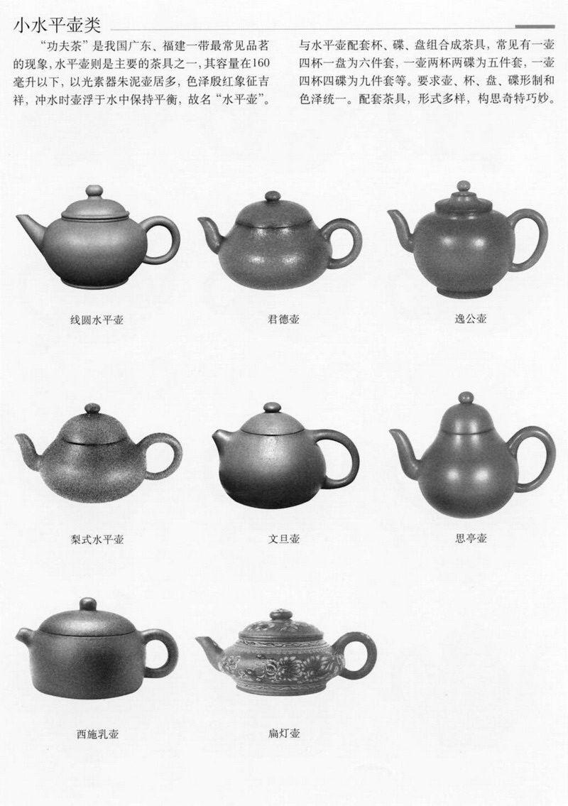 紫砂壺壺型詳解鑒別有圖