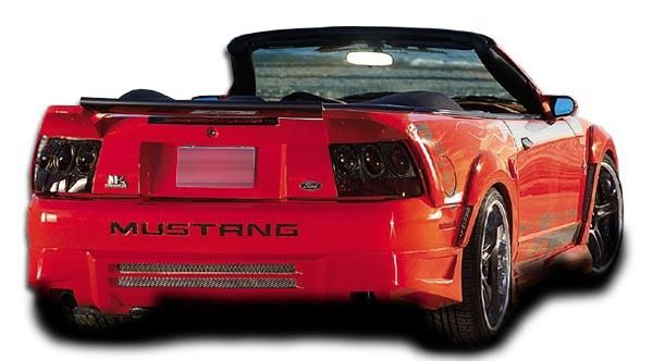 1999 2004 Ford Mustang Couture Urethane Demon Rear Bumper Cover 1 Piece S In 2021 2004 Ford Mustang Ford Mustang Mustang