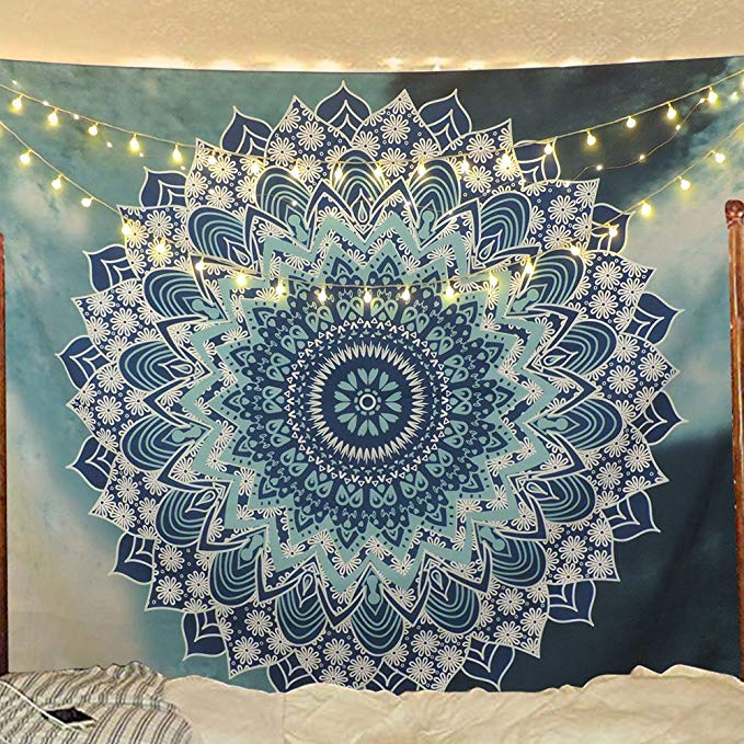 Amazon.com: Sunm Boutique Tapestry Wall Hanging Indian