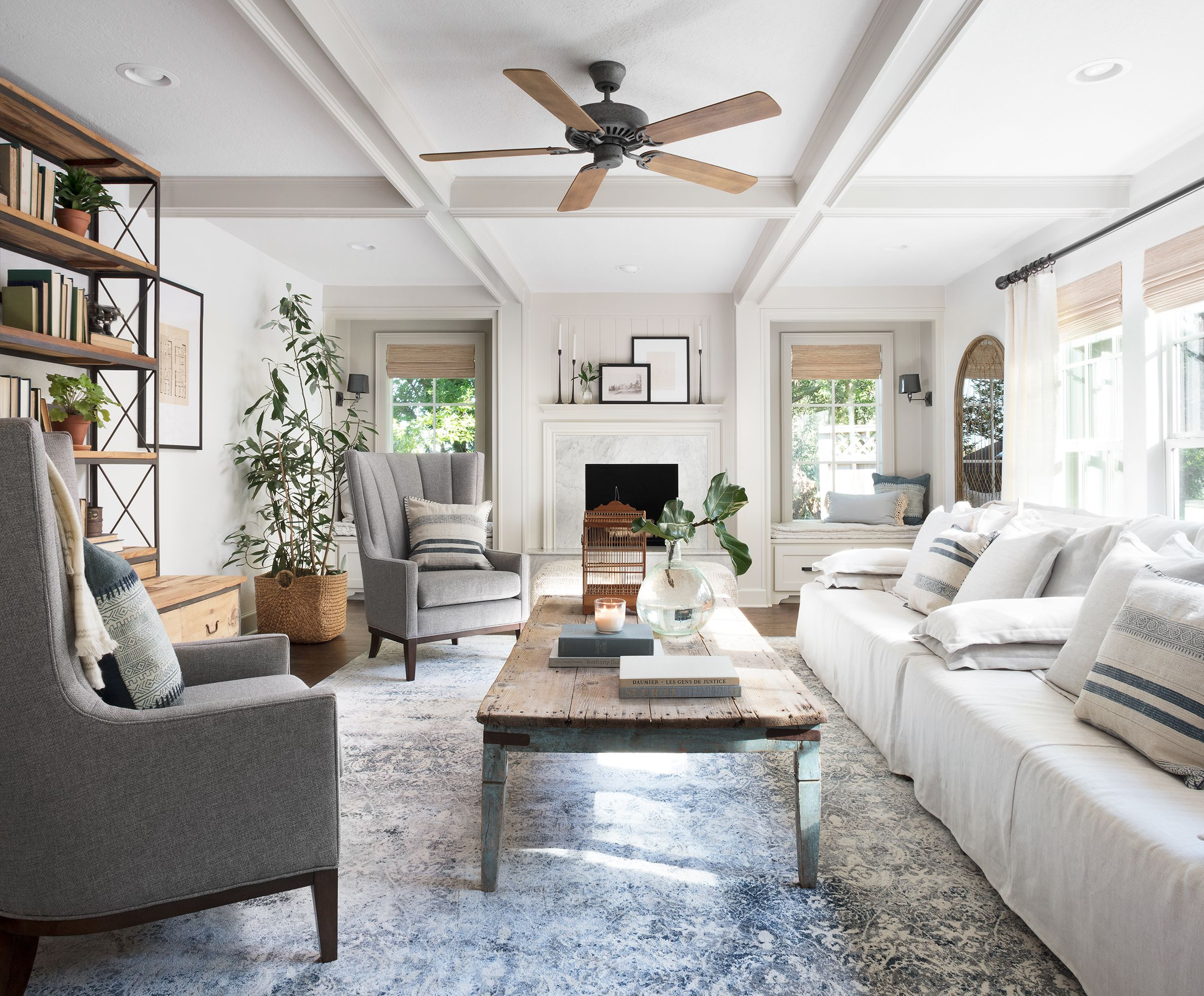 Fixer Upper Design Tips From Jo Sandvall Living Room