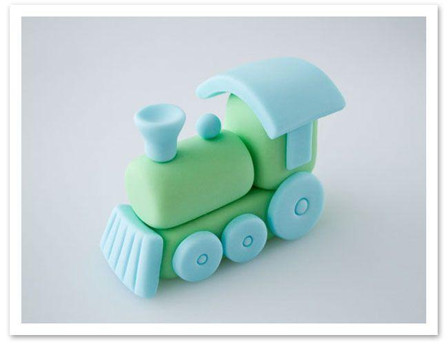 How to make a train cake topper • CakeJournal.com