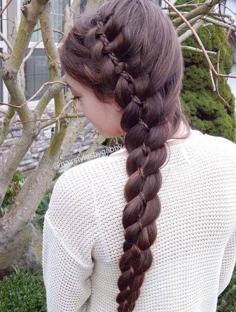 Pin Od Marzeline Beethoven Na Braids Fryzury I Włosy