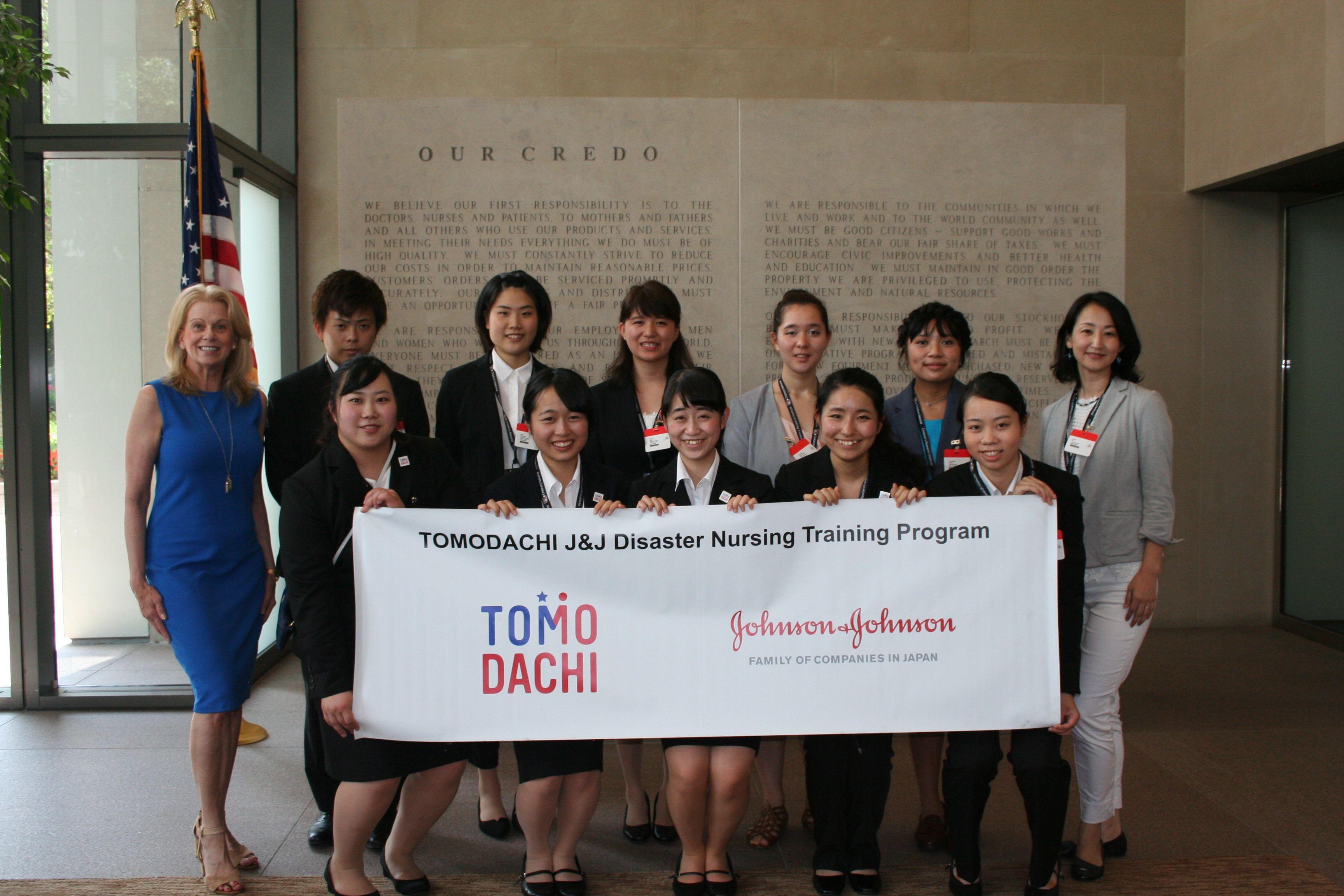 We loved meeting these Japanese student nurses