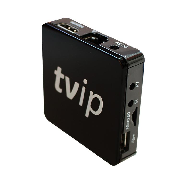 Mini Tvip 410 412 Android 4 4 Linux tv box Amlogic S805 Arabic iptv