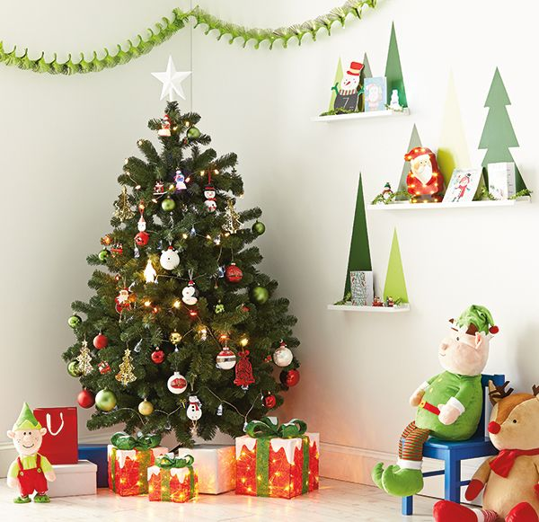 Adorn your Christmas tree with decorations the kids will love. These Santa,  snowman and polar bear baubles are available from Homebase, where you'll  also ... - Adorn Your Christmas Tree With Decorations The Kids Will Love. These