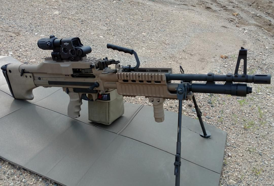 FDE M60e6 ready to go  Even the receiver is FDE    beautiful