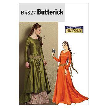 Mccall Pattern B4827 Aa (6-8-10-Butterick Pattern   Costume Ideas ...