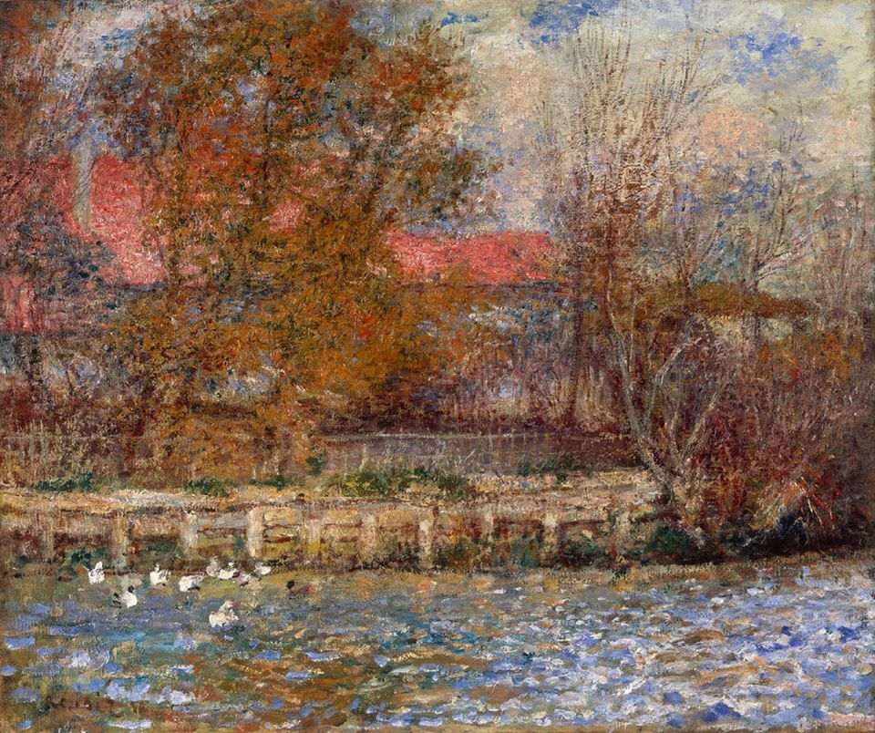 Duck Pond by Pierre-Auguste Renoir