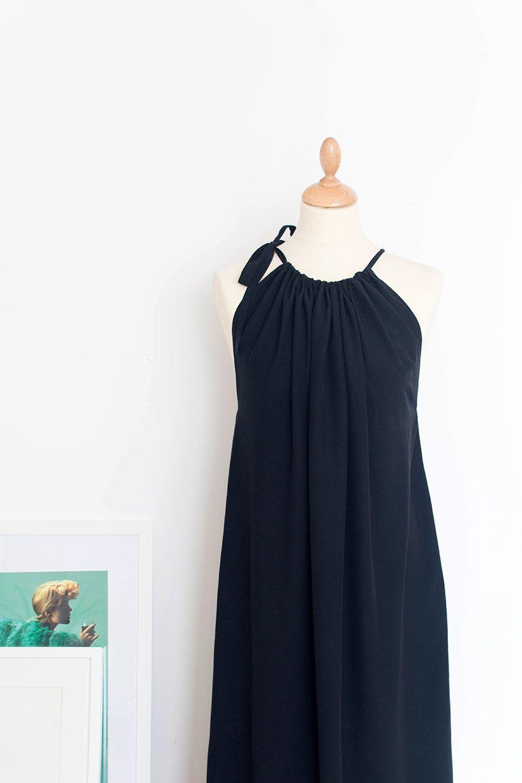 Langes Sommerkleid nähen #elbiseler