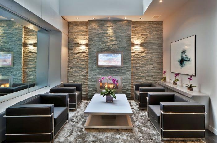 ▷ ideen für steinwand wohnzimmer zum inspirieren