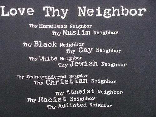 love thy neighbor as thyself essay writer