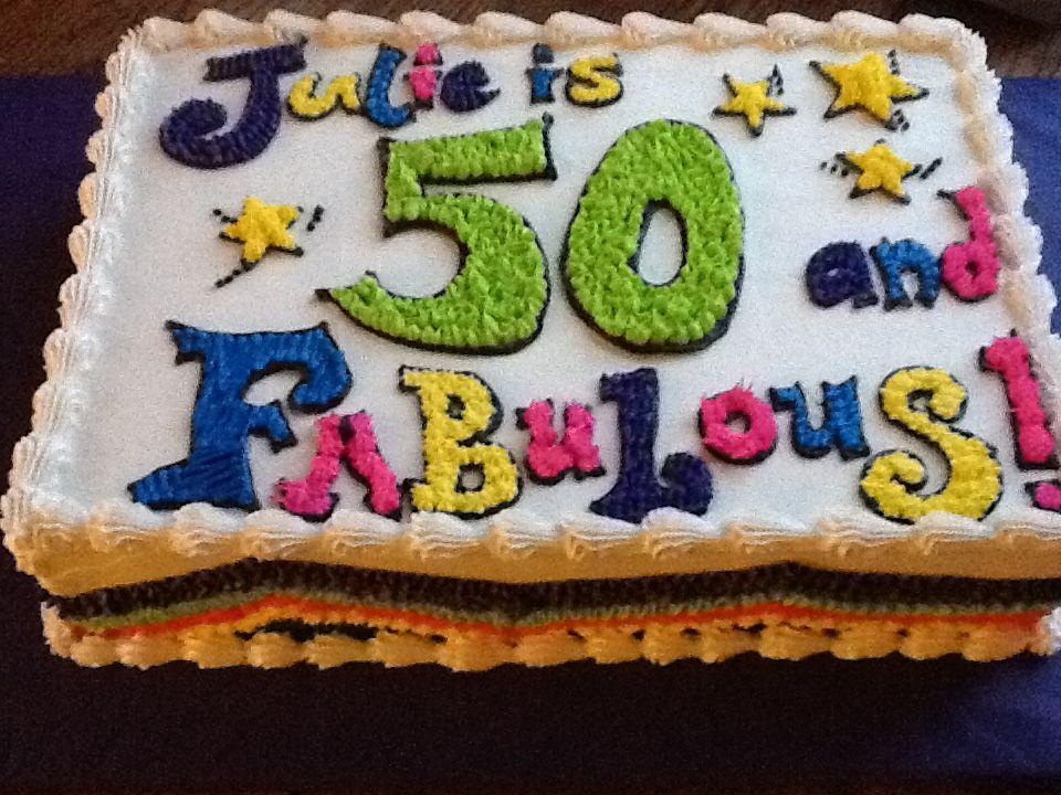 50th birthday cake ideas   Cake ideas   Pinterest