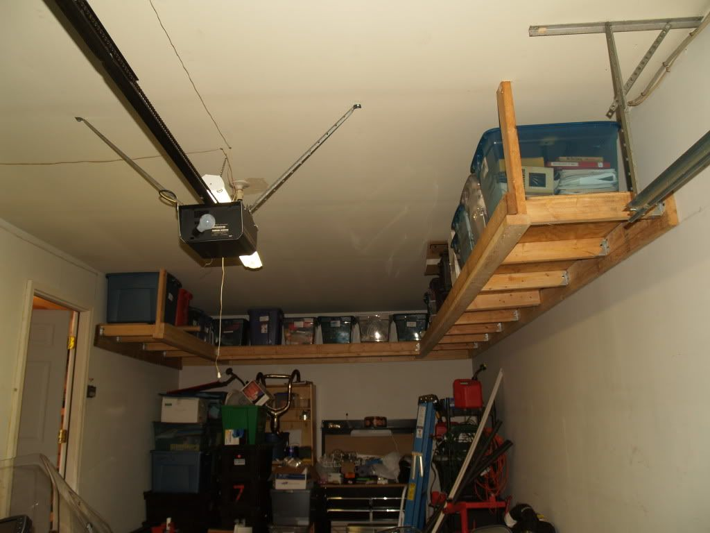 2x4 Garage Shelf Plans Free Plans To Build Garage Shelving