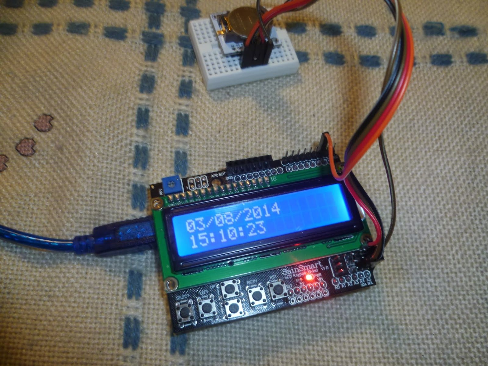 Arduino LCD Clock | Arduino | Arduino lcd, Arduino, Clock