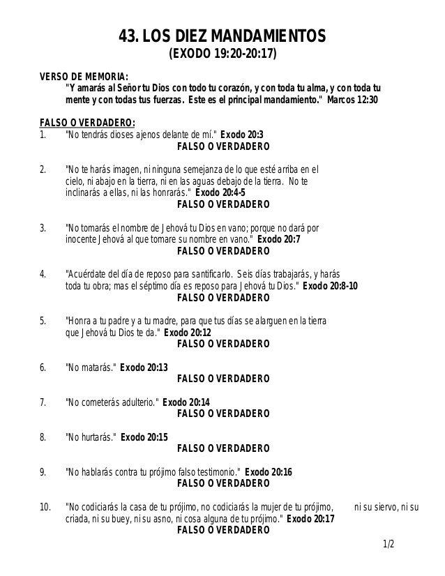 los-10-mandamientos-3-638.jpg (638×826) | catesismo catolico | Pinterest