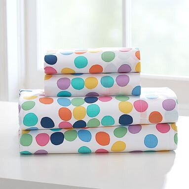 Dotted Sheets Twin Xl Sheet Sets Little Green Notebook