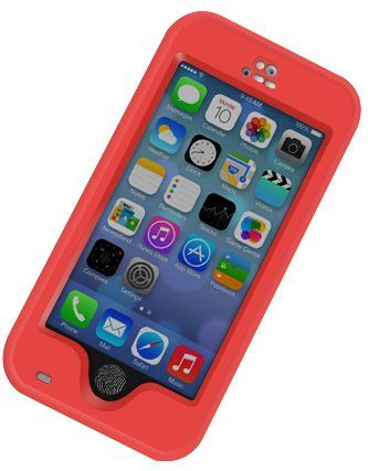 "cool iPhone 6 Waterproof Cell Phone Protective 4.7"" Case, Awesome Protective Covers & Accessories Offers Alternative to Lifeproof Defender & Otterbox Cases, for Apple AT&T, Verizon Wireless, Virgin & Sprint Phones. Buy Now to Protect & Defend Your Investment! (Red) Armour Shell Waterproof iPhone 6 Protective Case Extreme Protection from Drops and Accidents - Does your cell phone get beaten up? - Do you get scra…"