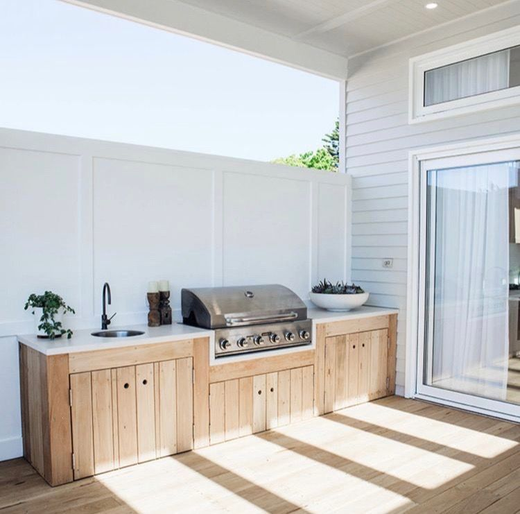 Paradise Outdoor Kitchens For Entertaining Guests Outdoor Bbq Kitchen Outdoor Kitchen Design Outdoor Bbq Area
