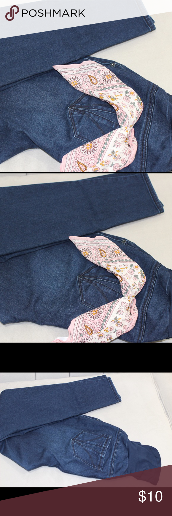 e624899542b Maternity jeans size 1x These maternity jeans are in very good condition.  Bundle and save 10% Indigo Blue Pants