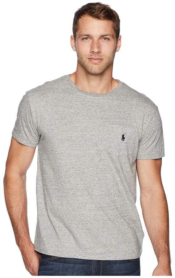 b5c006f1 Polo Ralph Lauren Short Sleeve Crew Neck Pocket T-Shirt Men's T Shirt