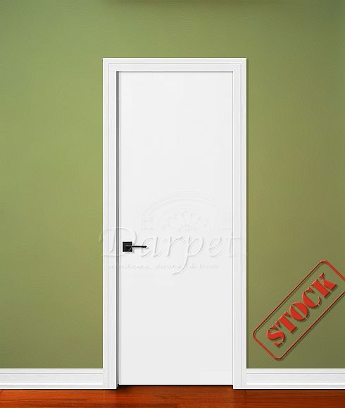 Flush Primed Solid Core 6 8 80 Darpet Interior Doors For