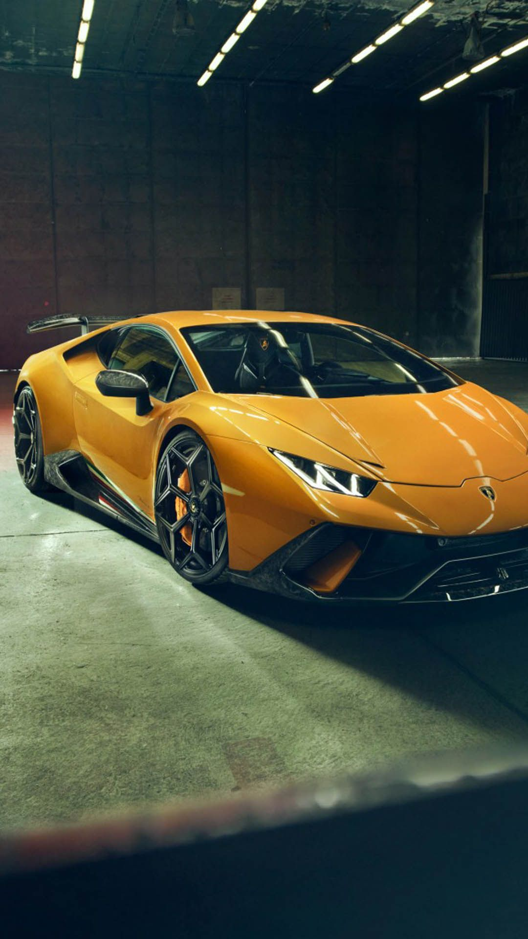 Yellow Lamborghini Huracan Performante Car Wallpapers Mobile