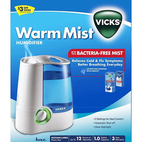 Vicks, Warm mist humidifier | Vicks V745A User Manual | Page
