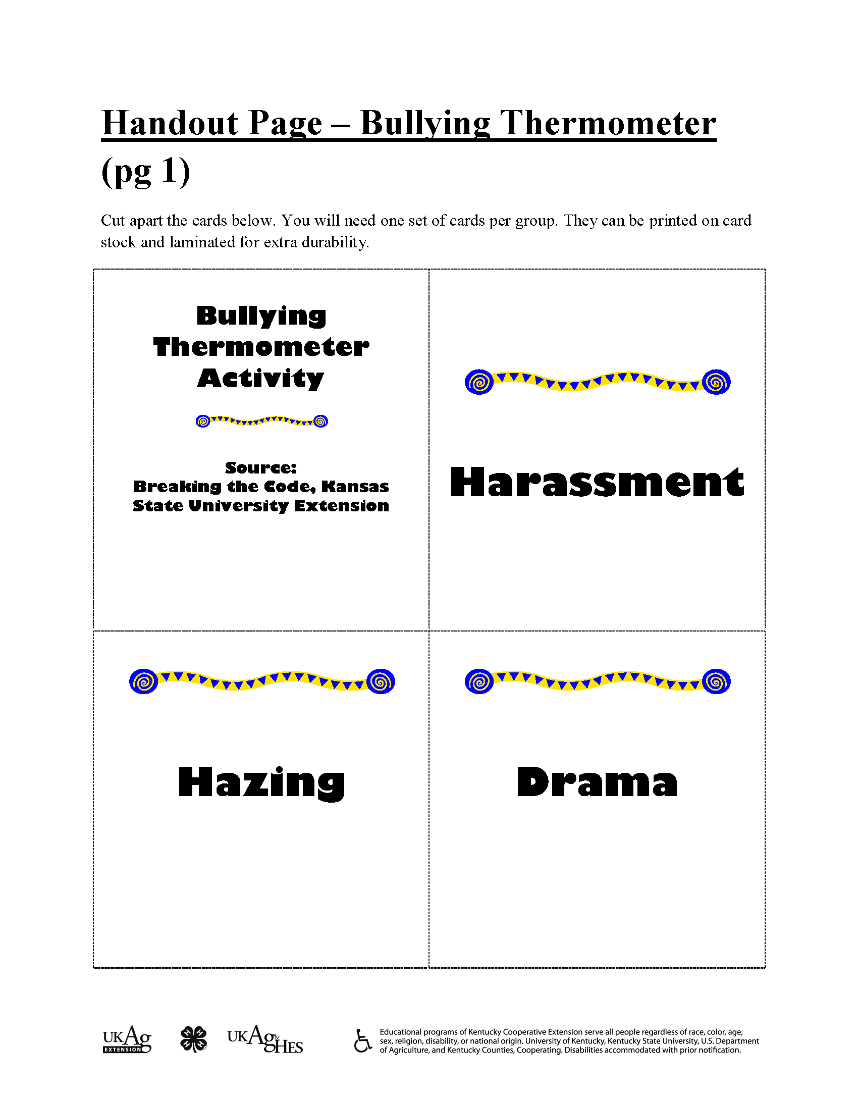 Pin By Wits Programs On Bullying Prevention Games And